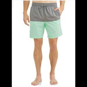 Men's Colorblock 8-inch Swim Short